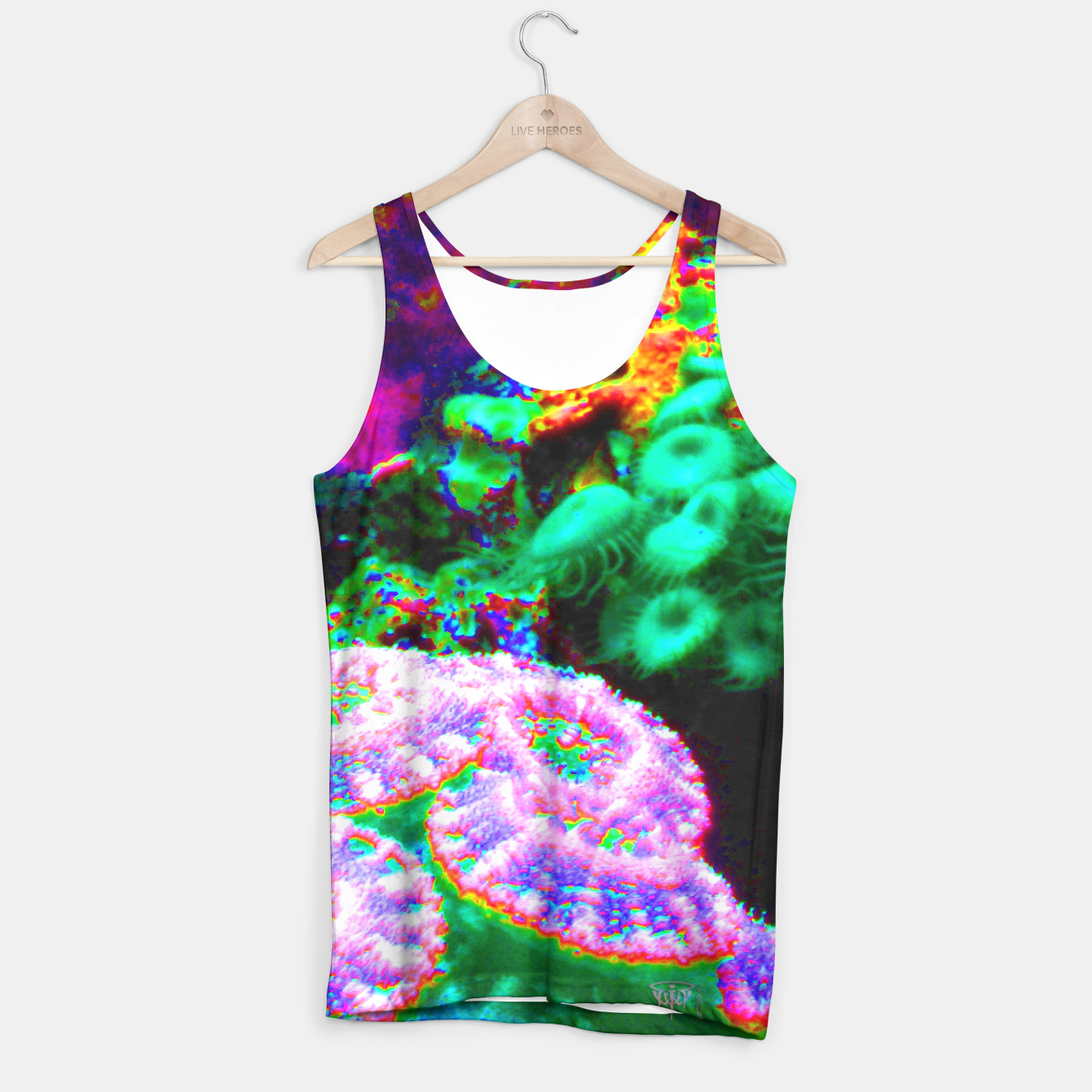 Image of Psychedelic coral landscape  Tank Top - Live Heroes