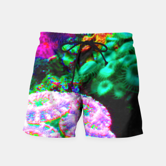 Thumbnail image of Psychedelic coral landscape  Swim Shorts, Live Heroes