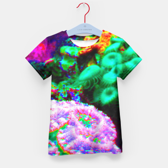 Thumbnail image of Psychedelic coral landscape  Kid's T-shirt, Live Heroes