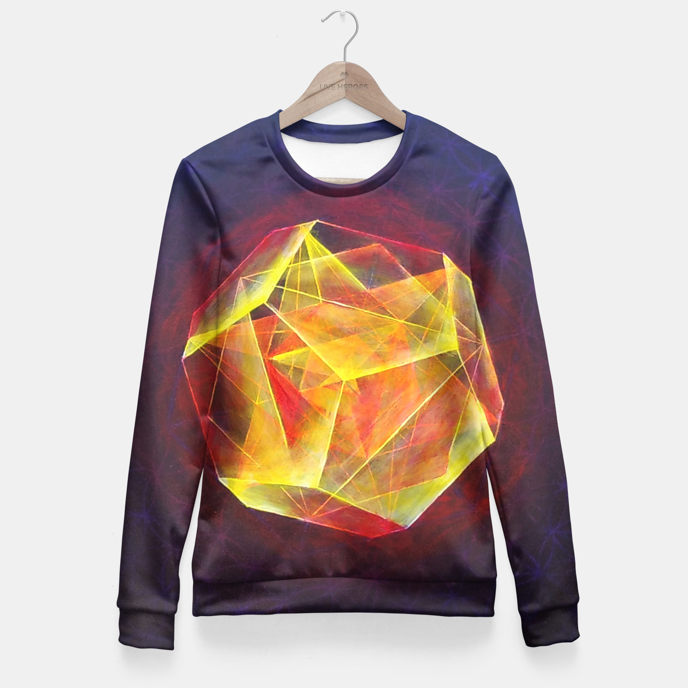 Image of Art-I-Fact Woman cotton sweater - Live Heroes