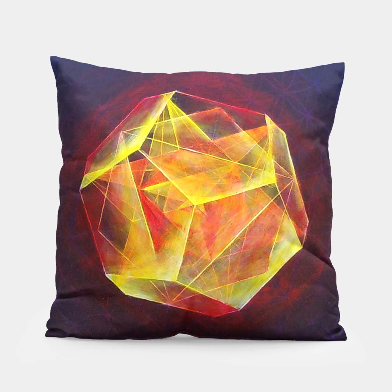 Image of Art-I-Fact Pillow - Live Heroes