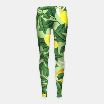 Lemonade V2 Girl's Leggings thumbnail image
