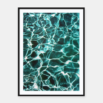 Thumbnail image of Waiting for Summer Framed poster, Live Heroes