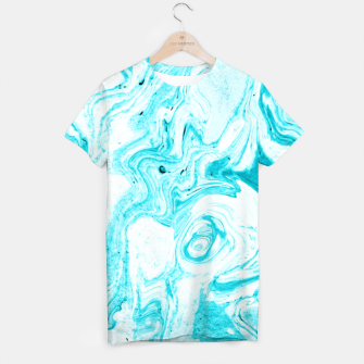 Thumbnail image of Ocean Blue Marble T-shirt, Live Heroes