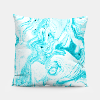 Thumbnail image of Ocean Blue Marble Pillow, Live Heroes
