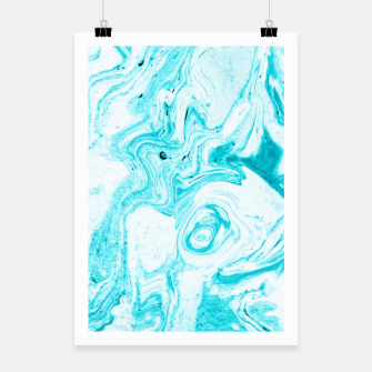 Thumbnail image of Ocean Blue Marble Poster, Live Heroes