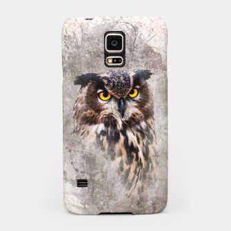 Thumbnail image of Watercolor Owl Handyhülle für Samsung, Live Heroes