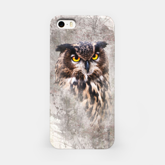 Thumbnail image of Watercolor Owl iPhone-Hülle, Live Heroes