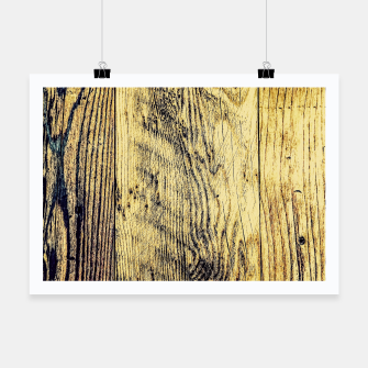 Thumbnail image of brown vintage wood texture Poster, Live Heroes