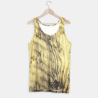 Thumbnail image of brown vintage wood texture Tank Top, Live Heroes