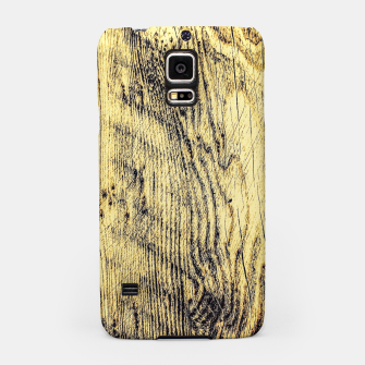 Thumbnail image of brown vintage wood texture Samsung Case, Live Heroes