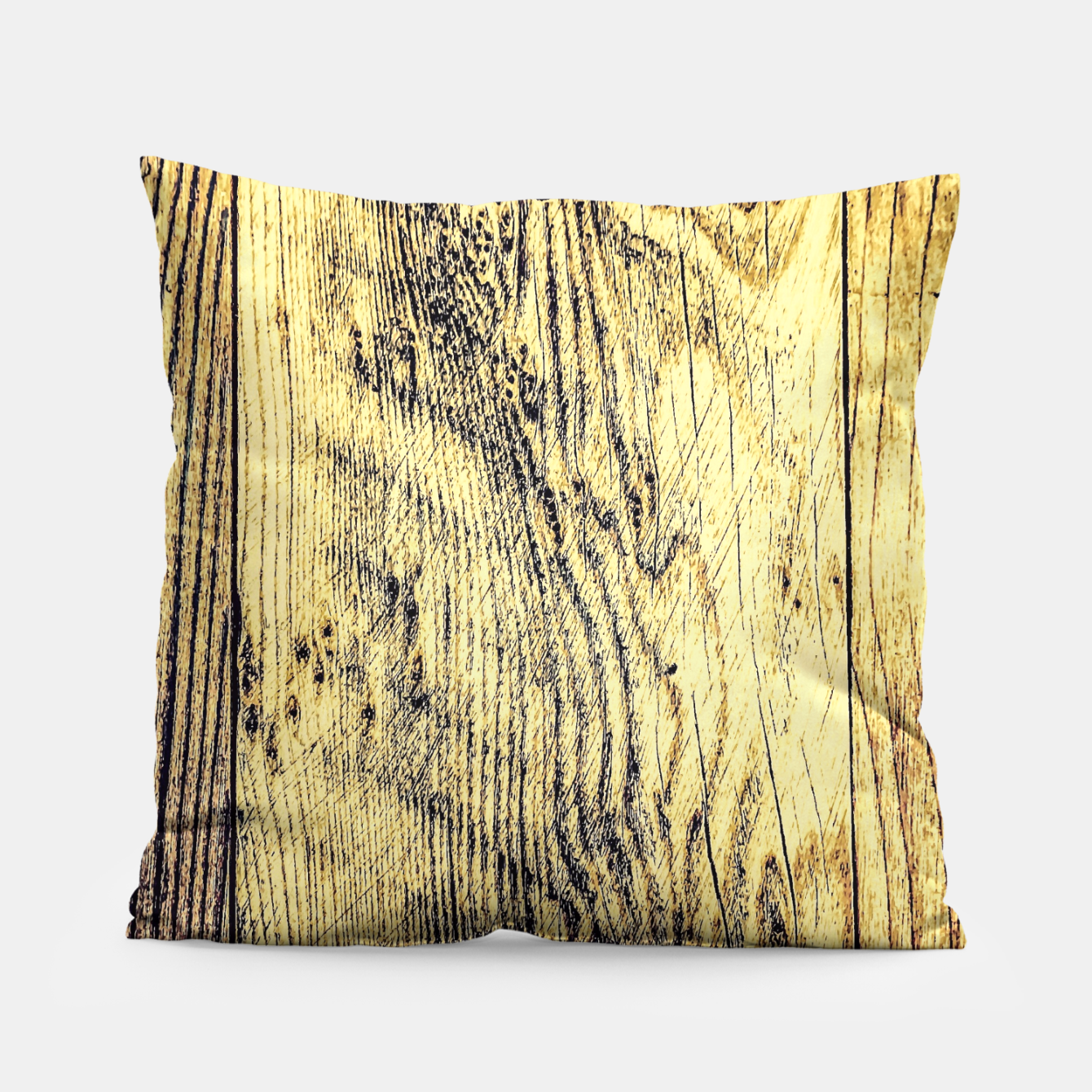 Image of brown vintage wood texture Pillow - Live Heroes