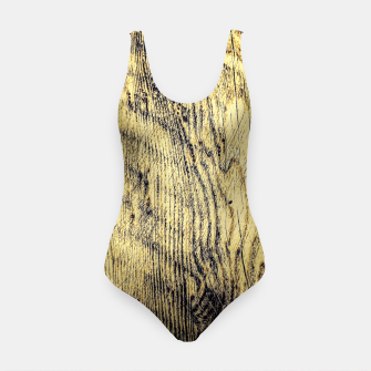 Thumbnail image of brown vintage wood texture Swimsuit, Live Heroes