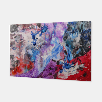 Thumbnail image of Untitled - Ink Splatter  Canvas, Live Heroes