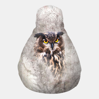 Thumbnail image of Watercolor Owl Puff, Live Heroes