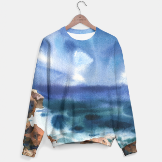 Miniatur Only the sound of the sea Sudadera, Live Heroes