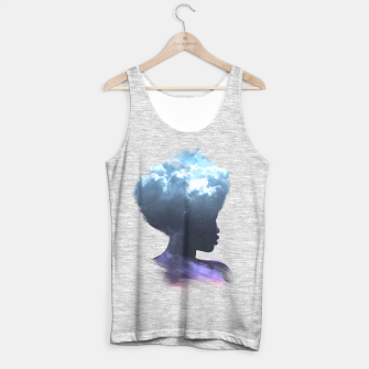 Thumbnail image of Heads on the clouds Tank Top regular, Live Heroes