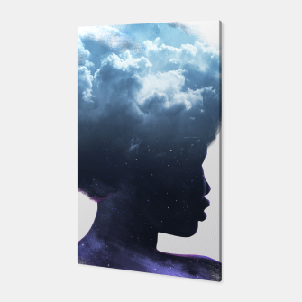 Thumbnail image of Heads on the clouds Canvas, Live Heroes