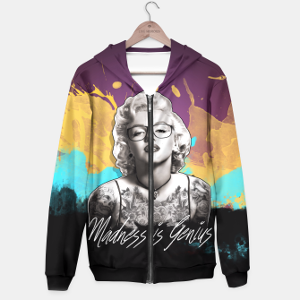 Thumbnail image of Madness is Genius Sudadera con capucha, Live Heroes