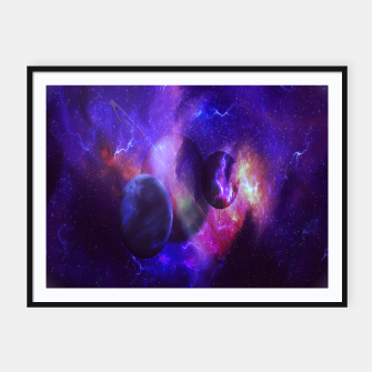 Thumbnail image of Planetary wings  Framed poster, Live Heroes
