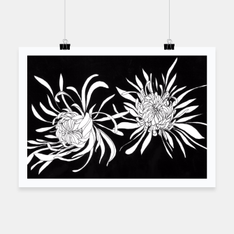 Thumbnail image of Chrysanthemums Poster, Live Heroes