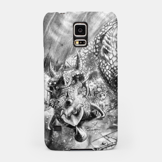 Thumbnail image of Dragon Family Samsung Case, Live Heroes