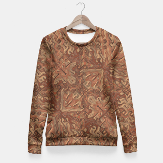 Thumbnail image of Gnarly Camouflage Fitted Waist Sweater, Live Heroes