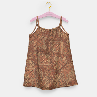 Thumbnail image of Gnarly Camouflage Girl's Dress, Live Heroes