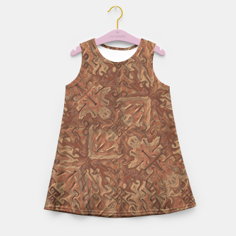 Thumbnail image of Gnarly Camouflage Girl's Summer Dress, Live Heroes