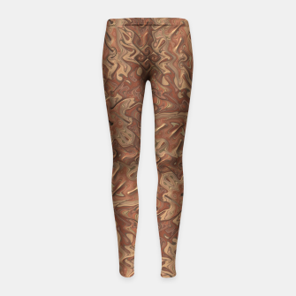 Thumbnail image of Gnarly Camouflage Girl's Leggings, Live Heroes