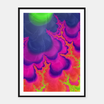 Thumbnail image of Trippy Framed poster, Live Heroes