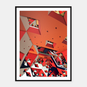 Thumbnail image of Madhouse Framed poster, Live Heroes