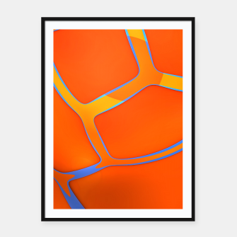 Thumbnail image of Nothing Rhymes With Orange Framed poster, Live Heroes