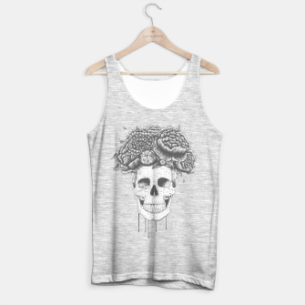 Thumbnail image of Skull with flowers Tank Top regular, Live Heroes
