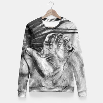 Thumbnail image of Mermaid Fitted Waist Sweater, Live Heroes