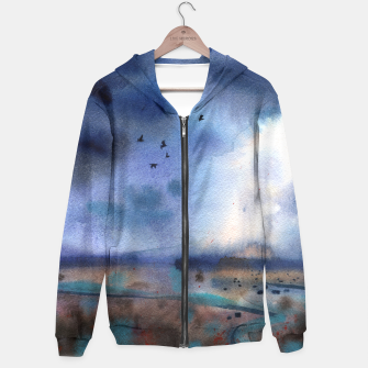 "Miniatur "" After the rain "" Sudadera con capucha, Live Heroes"