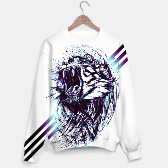 Thumbnail image of blue.TIGER-G! Sweater, Live Heroes
