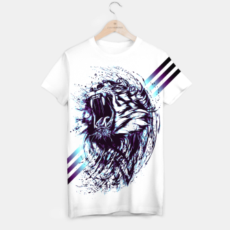 Thumbnail image of blue.TIGER-G! T-shirt, Live Heroes