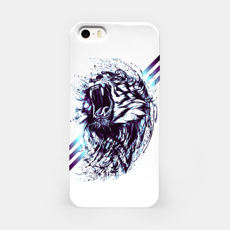 Thumbnail image of blue.TIGER-G! iPhone Case, Live Heroes