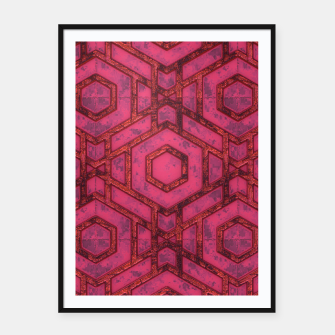 Thumbnail image of Hexed Framed poster, Live Heroes