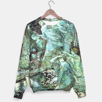 Vintage Rackham Painting - World Of Fairies Sweatshirt Bild der Miniatur
