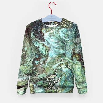Miniatur Vintage Rackham Painting - World Of Fairies Kindersweatshirt, Live Heroes