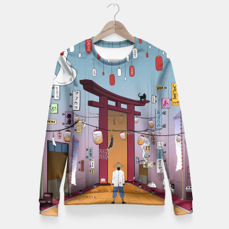 Thumbnail image of Lost in Time Fitted Waist Sweater, Live Heroes