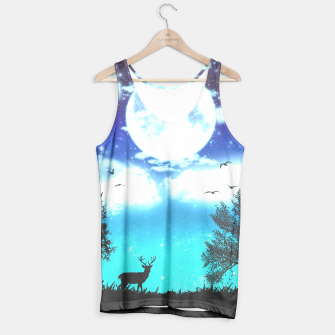 Miniaturka Dreamy night into the forest Tank Top, Live Heroes