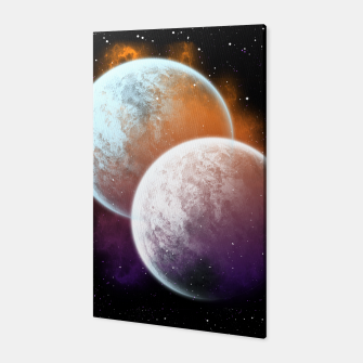 Miniaturka Together Forever Planets Canvas, Live Heroes