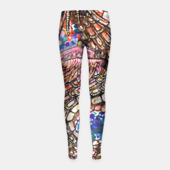 Thumbnail image of Dragon from East Girl's Leggings, Live Heroes