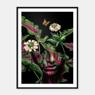 Thumbnail image of Felicity Framed poster, Live Heroes