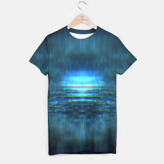 Thumbnail image of G L i t C H R e F L e X ~ T-shirt, Live Heroes