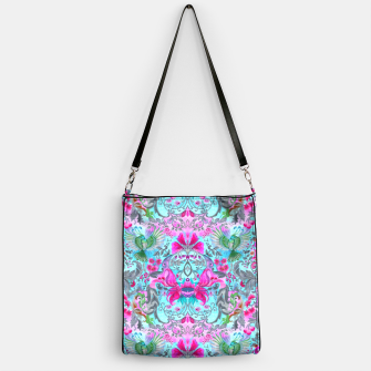 Thumbnail image of Vintage floral turquoise pattern Handbag, Live Heroes