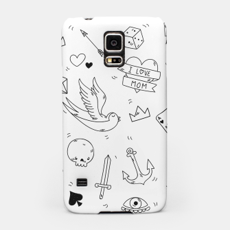 Miniature de image de Pop Culture Art / Old School Tattoo Samsung Case, Live Heroes